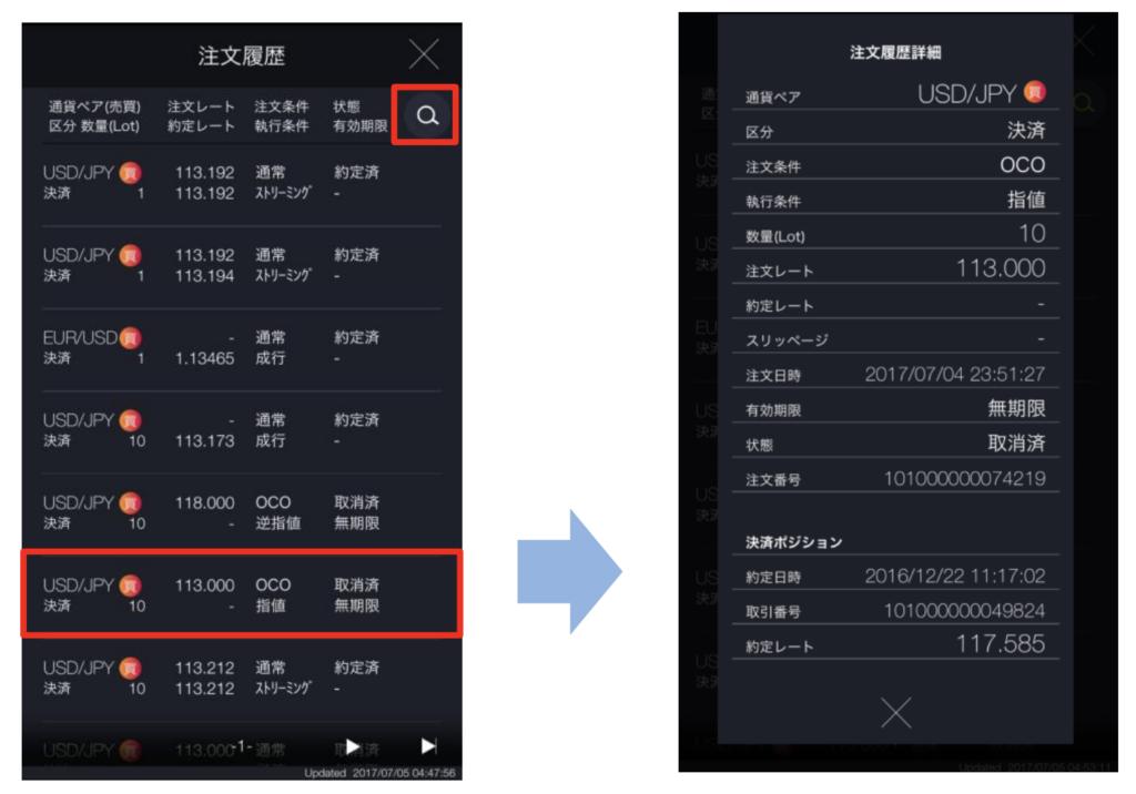 DMMFX アプリ